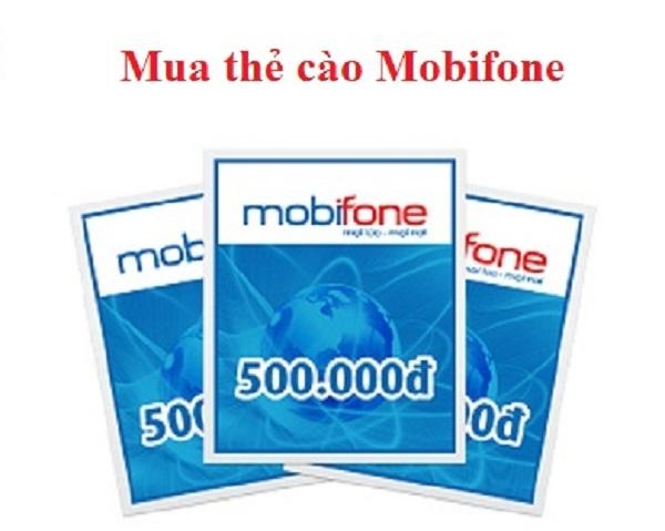 Mua thẻ cào Mobifone đơn giản qua những gợi ý sau