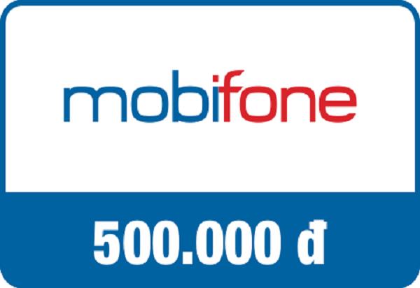 Mua thẻ cào Mobifone 500k chiết khấu khủng
