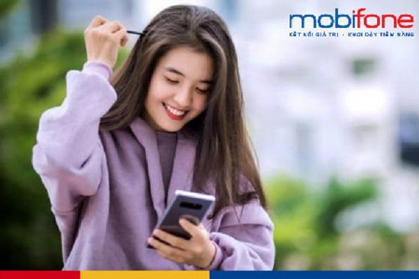 Mua thẻ điện thoại Mobi qua 2 bước đơn giản