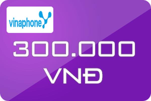 Mua card Vinaphone mệnh giá 300k bằng tài khoản Sacombank