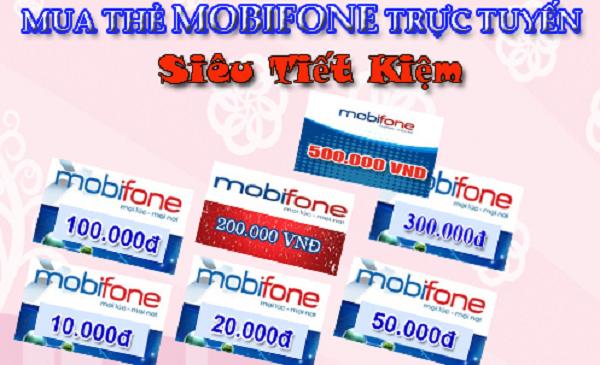 Cách mua thẻ điện thoại Mobifone nạp tiền đơn giản