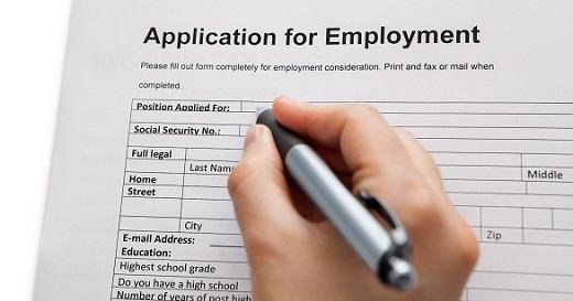 Nội dung của đơn xin việc cần có yếu tố nào