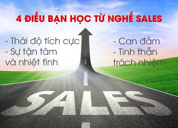 5 Lý do nên chọn nghề sale