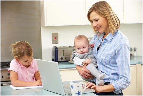 Tìm việc làm thêm tại nhà cho mẹ bỉm sữa và những điều cần biết