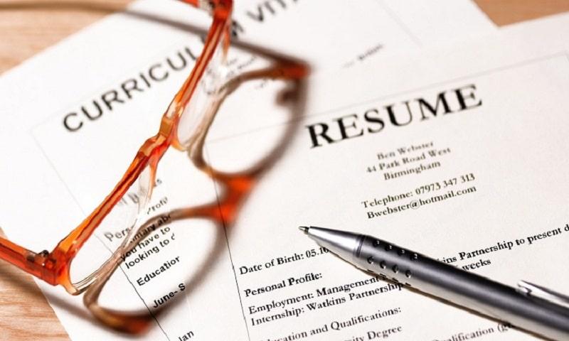 CV xin việc nơi nhà tuyển dụng nhận diện nhân tài