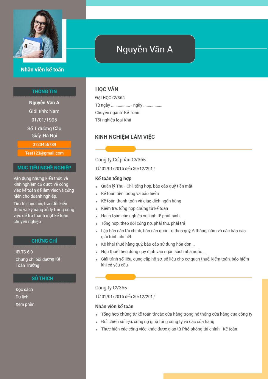 Hướng dẫn viết CV xin việc cho sinh viên làm thêm