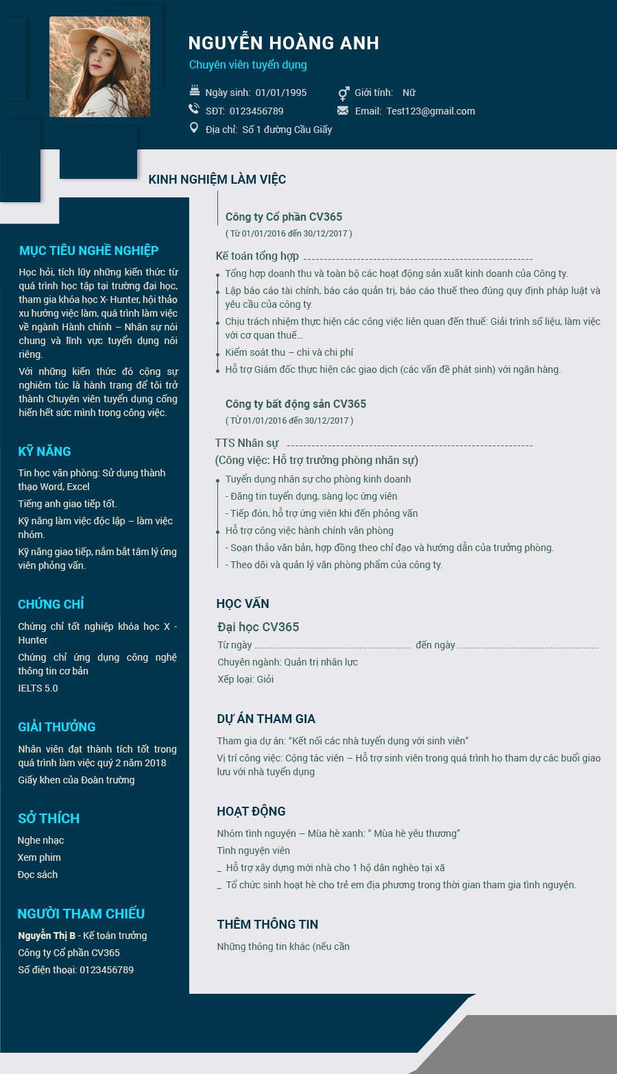 Viết CV xin việc kế toán tiếng Anh cần chú ý điều gì?